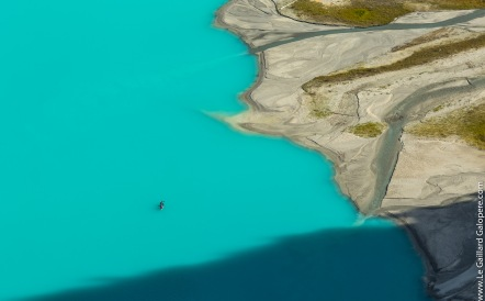 Like a fly on Lake Louise...