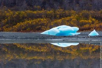 Iceberg in the fields