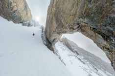 The couloir doors
