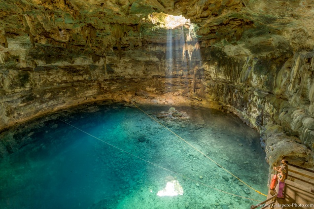 There are more than 6000 cenotes in Yucatan Peninsula. More famous than others, Samulá doesn't know the crowd on the early morning...