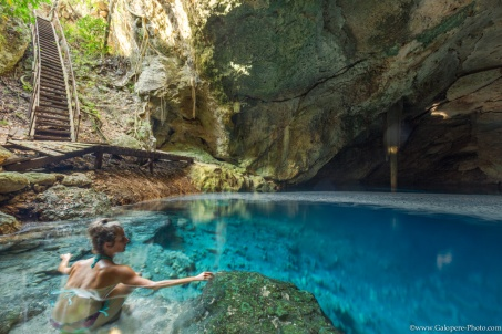 Some cenotes are unknown by the tourists because they are isolated. It is great to enjoy our time and the silent there.