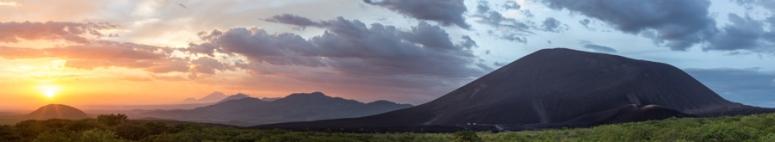 Marribios, volcanic range in Nicaragua.