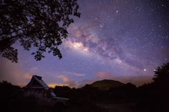 Under the stars for our first night in Nicaragua
