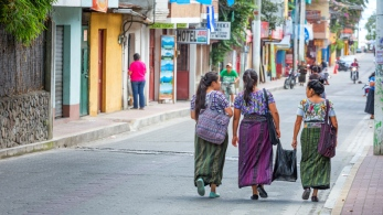 Panajachel, Guatemala.