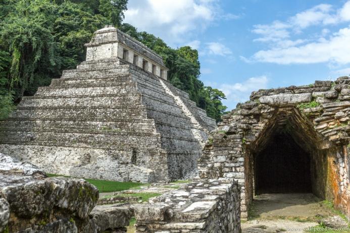 Palenque ruins, Chiapas, Mexico.