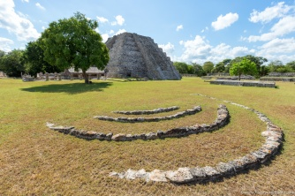 Because the Mayans had considerable knowledge in astronomy, this construction suggests that it could be related to the sun !