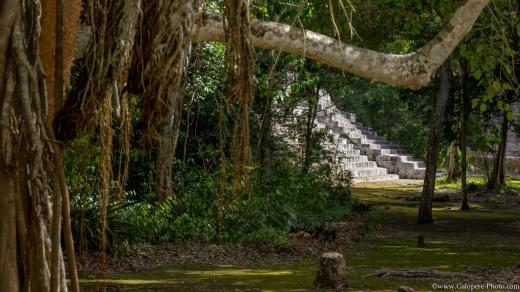 Becán ruins, Campecche, Mexico.